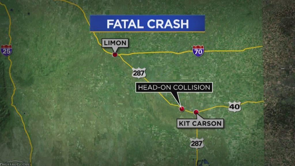 Confirmed Seven Deaths In Cheyenne County a Head-On Collision