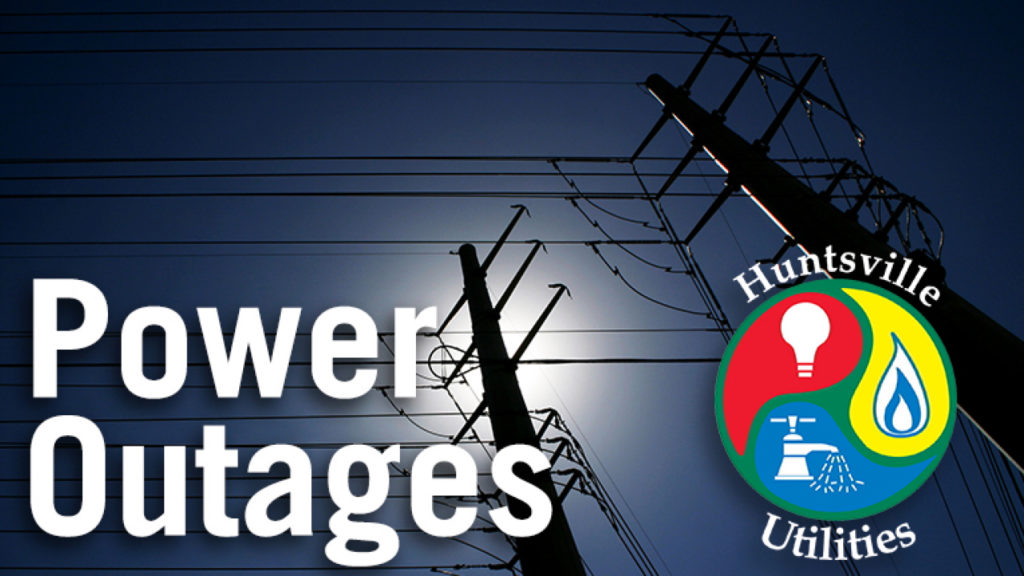 power outages across huntsvill