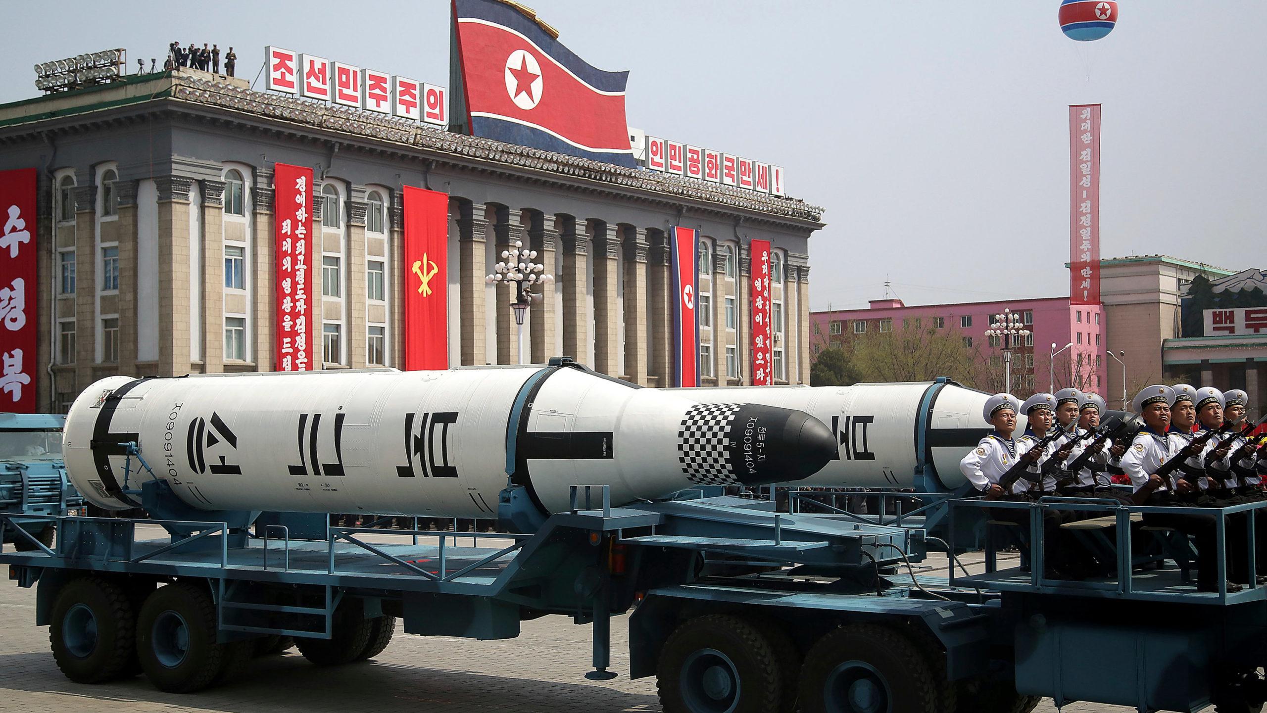 North Korea Testing Nuclear Missiles